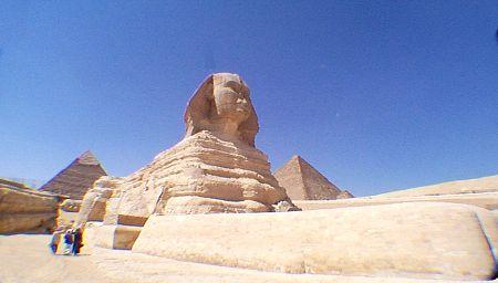 Sphinx Agung Giza, Sphinx Giza, Sphinx, Sphinx mesir, piramida
