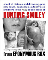 2016 Double Graphic Issue 'HUNTING SMILEY' (new cases, cold cases, forensics, autopsies and more)