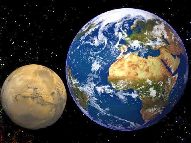MARS OU LE CHANTIER PLANETAIRE INTERROMPU