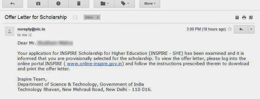 How to Fill Bank Details for INSPIRE Scholarship ExamsDust