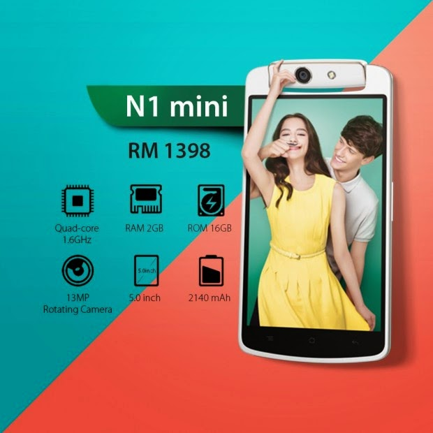 Chinese Smartphone Oppo N1 Mini(Features)