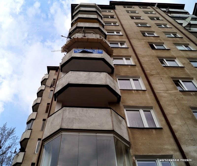 Targówek Warszawa blokowisko warszawskie mozaiki