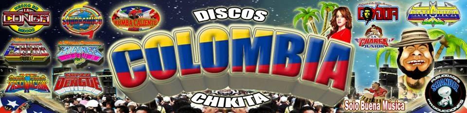  DISCOS COLOMBIA CHIQUITA  ™ ➠ Solo Música Sonidera.