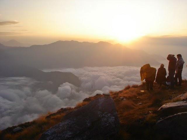 Dehradun - Ocean of the cloud