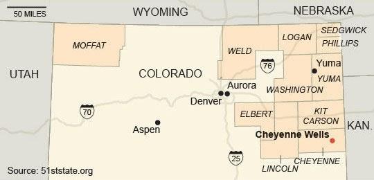 The rural blog colorado counties 39 secession plan on the for Colorado plan