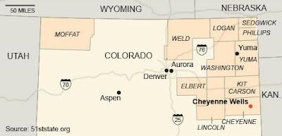 Colorado's 11 secessionist counties
