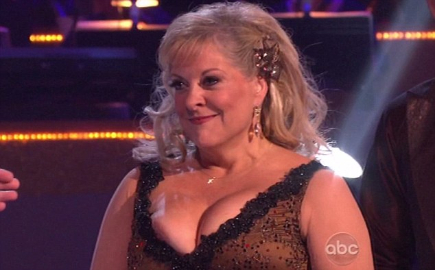Dancing with the stars boob out
