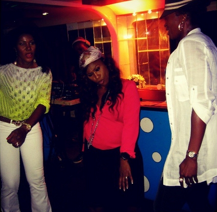 stephanie okereke husband birthday party