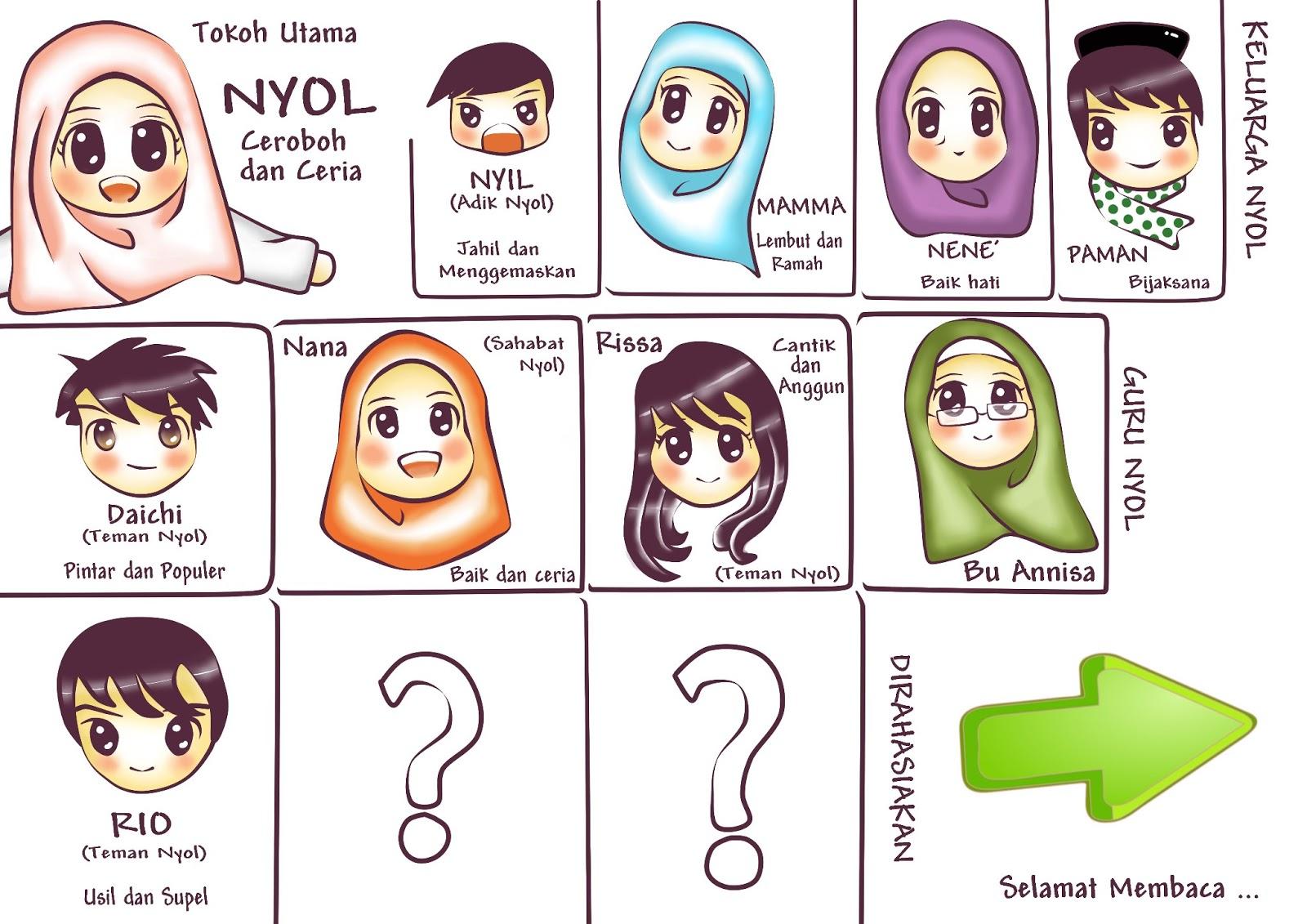 Komik Anime Islami Dakwah Pacaran Nyol Comic Series Chapter 1