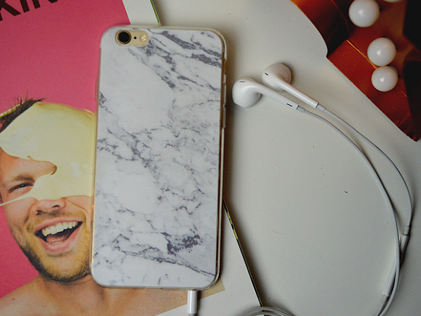 Marble telefoon hoesje van Life of Yvonne Mini Shop