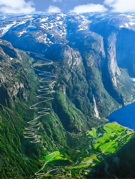 Beautiful Lysefjorden, Norway