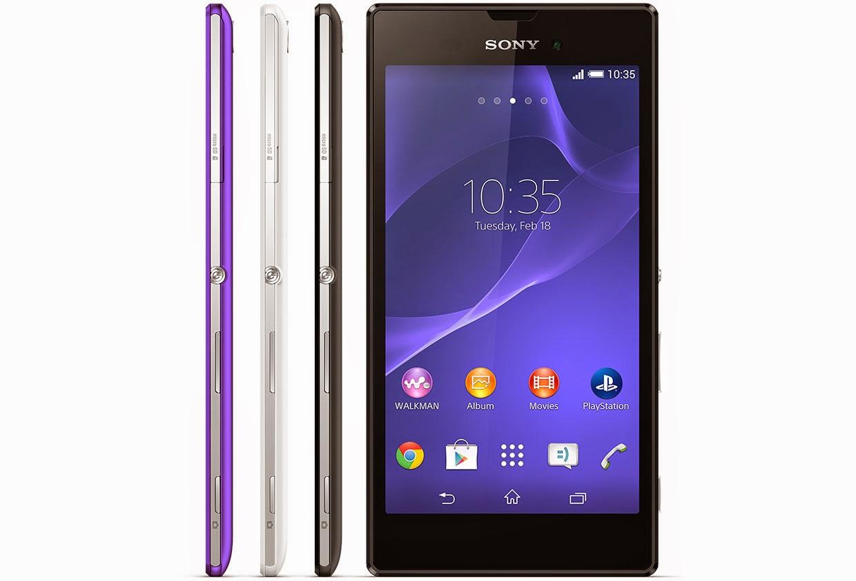 Harga Sony Xperia T3 terbaru Beserta Spesifikasi Lengkap