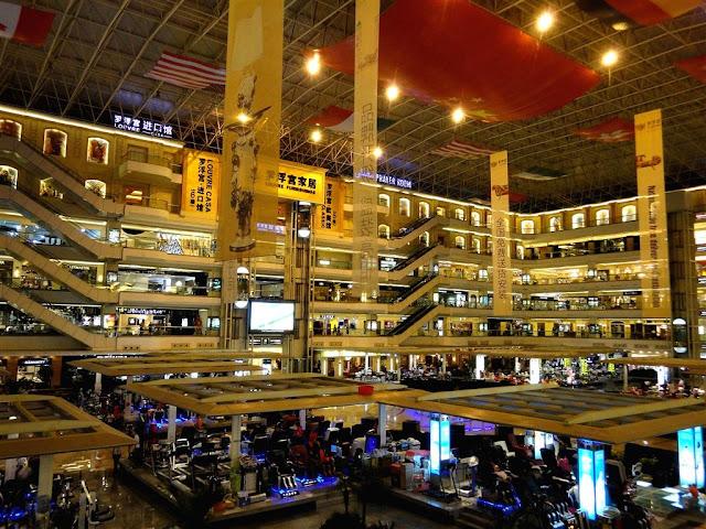المولات والاسواق في كوانزو