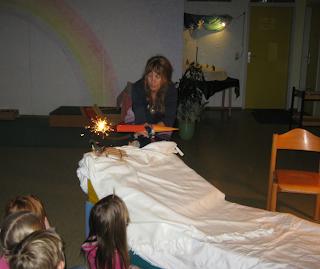 Monatsfeier Januar, Kindergarten, Waldorf, Puppenspiel