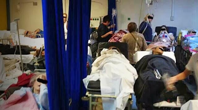 Κι όμως, δεν πρόκειται για φωτογραφία από... το Ιράκ, αλλά από νοσοκομείο της Ελλάδας! [ΦΩΤΟ]