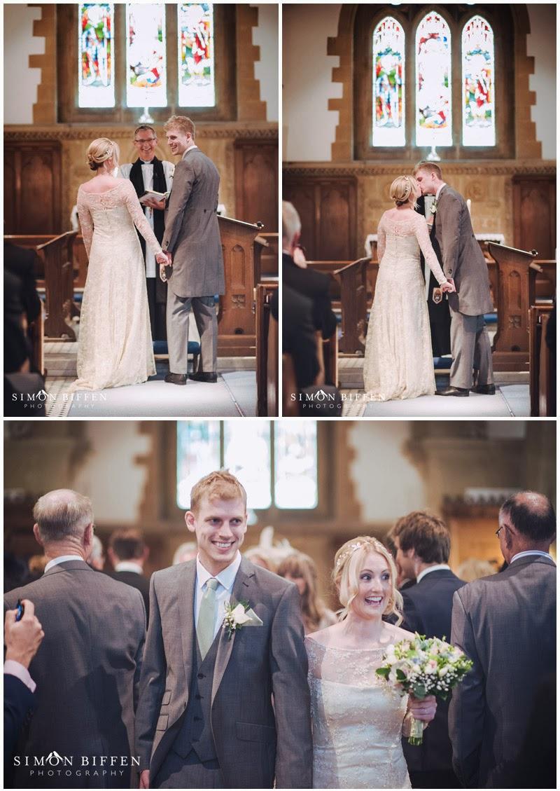 Wedding at Monkton Combe church