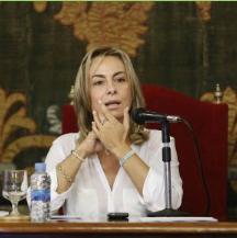 Sonia Castedo dimite como alcaldesa de Alicante.