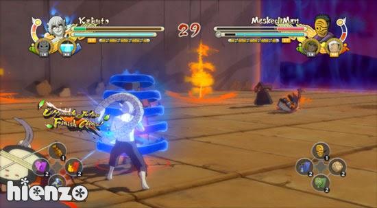 Naruto ultimate ninja heroes 3 rip