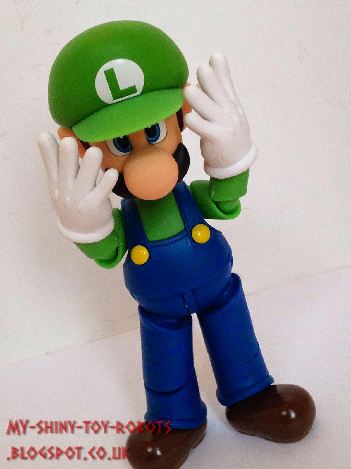 Posing Luigi
