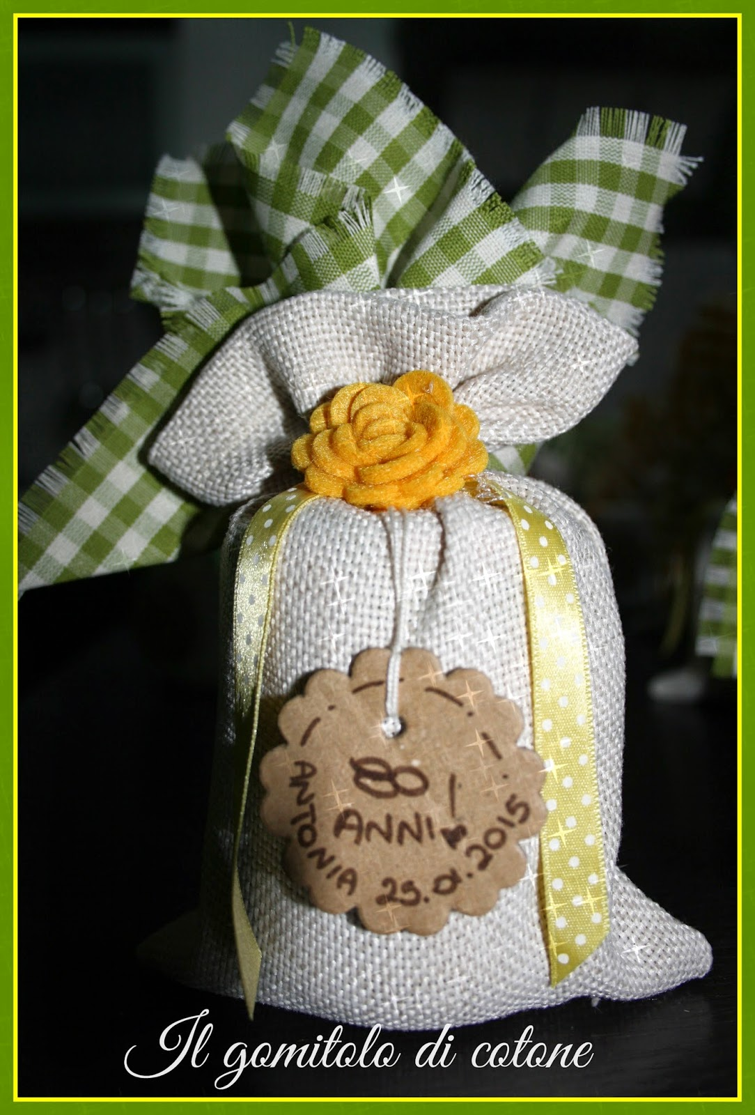 Conosciuto Il gomitolo di cotone: Bomboniere 80° compleanno e torte! GM28