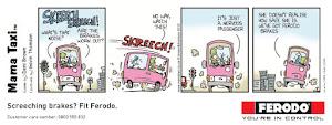 Ferodo Brake Pad ad campaign