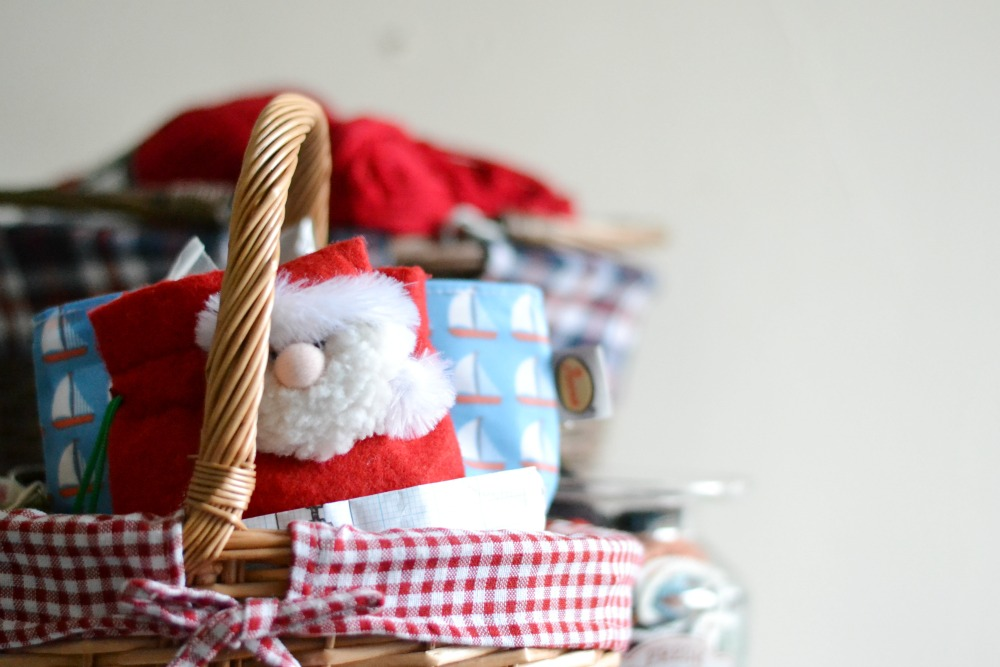 craft bags boats santa christmas basket