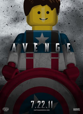 LEGO Posters of Summer Blockbuster Movies 2011 Seen On www.coolpicturegallery.us