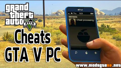 V - Cheats para GTA V PC