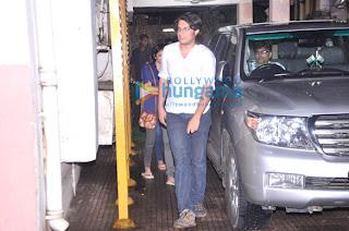 Aamir, Kiran & Junaid watch 'Grand Masti'