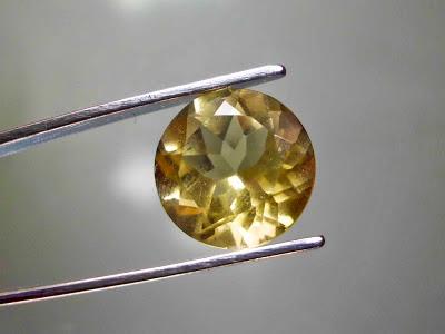 Batu Permata Natural Yellow Citrine