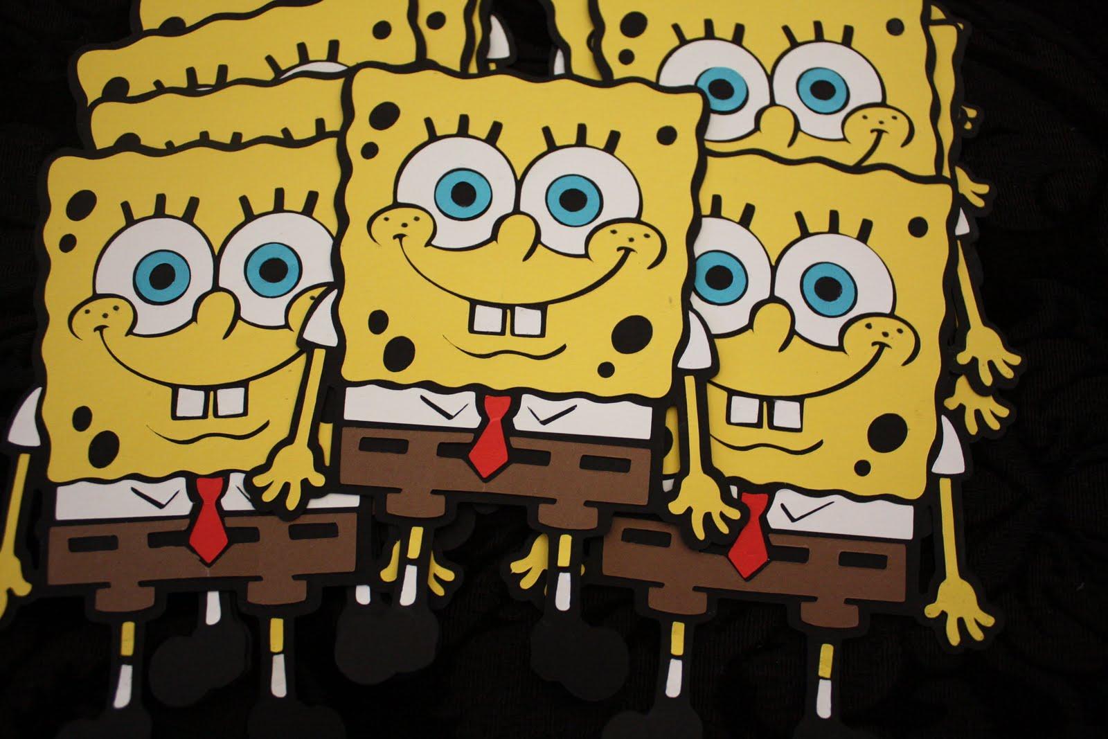 Wonderful spongebob party invitations pictures inspiration bella scrapbook designs spongebob invites solutioingenieria Gallery