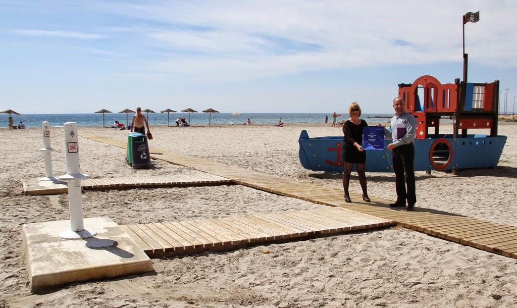 playas en santa pola