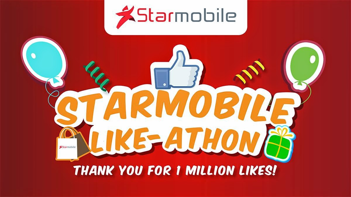 Starmobile Like-Athon Grand Sale on November 7-9, 2014 at Virra Mall