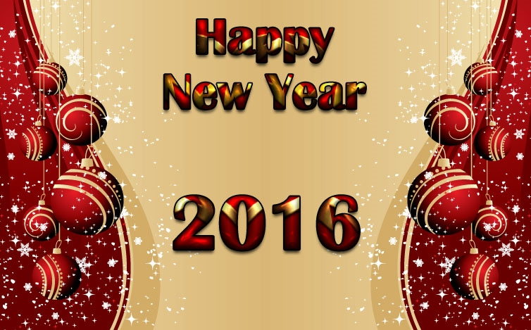 Beautiful New Year eCards Images 2016
