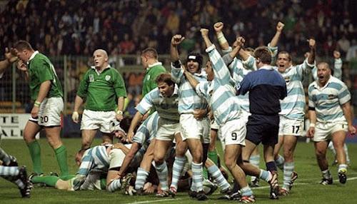 Batallas épicas RWC: Argentina vs Ireland