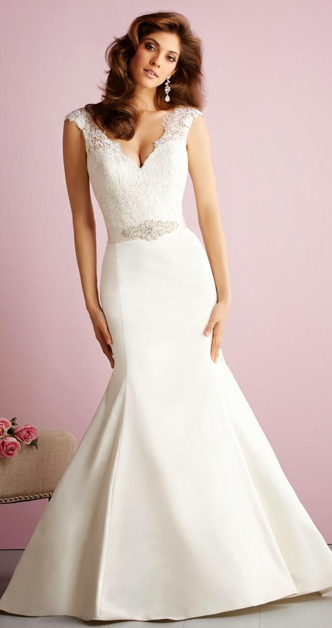Allure Romance Fall Wedding Dresses 2014 ADVERTISING
