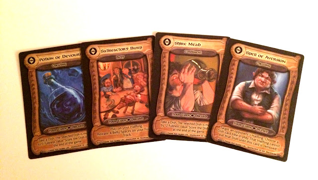 Halfling Feast action cards