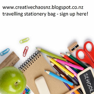 Travelling Stationery Bag - sign up here!