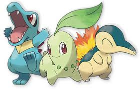 Second Generation Starter Pokémon