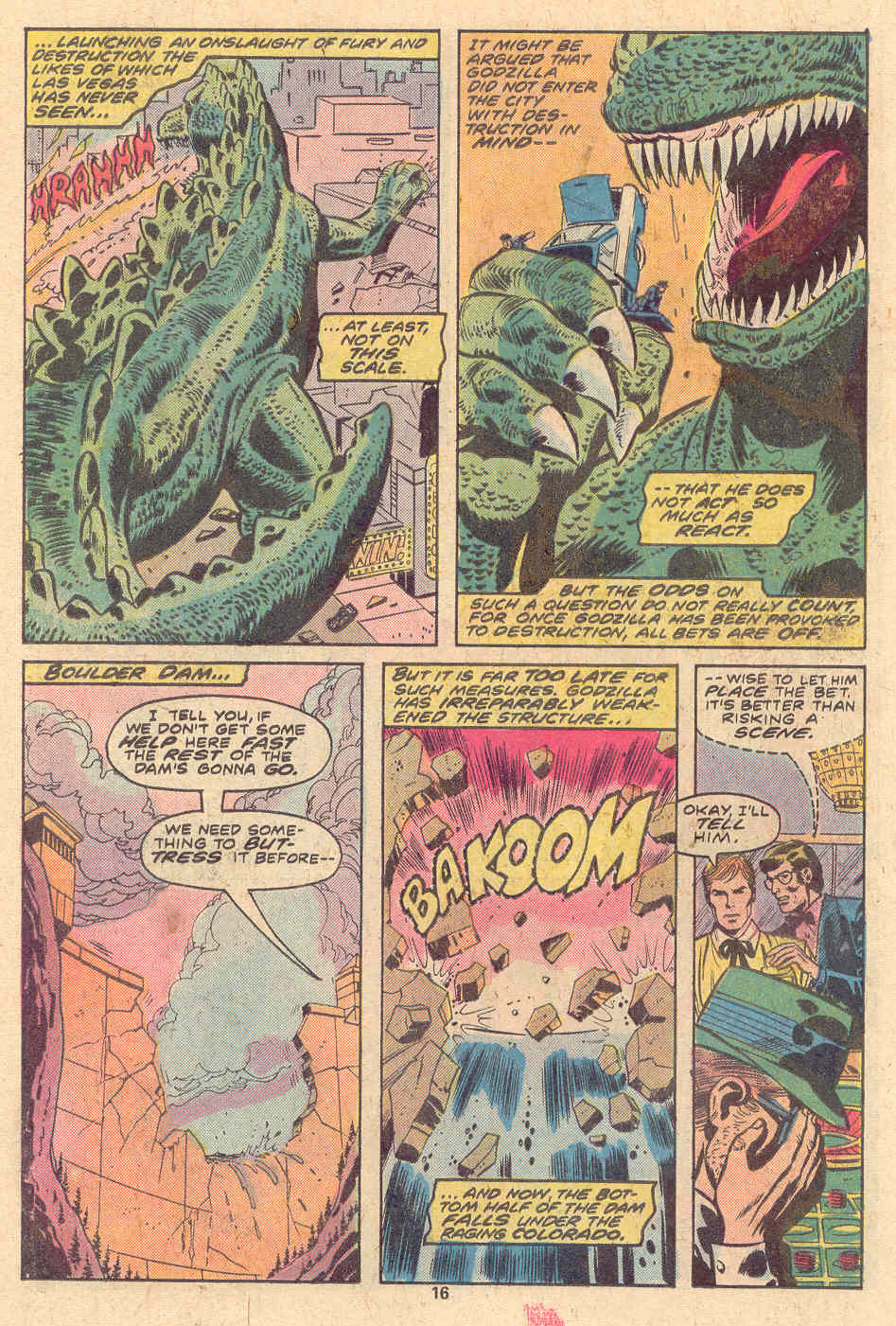 Godzilla (1977) Issue #9 #9 - English 11