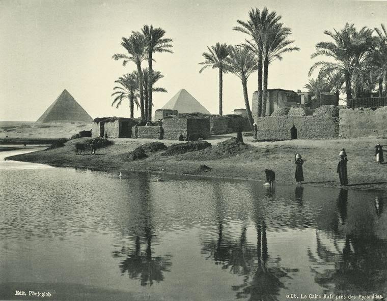 Fotografías antiguas de Egipto