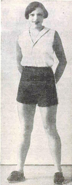 Mrs Thelma Peake of Queensland, in July 1935 - Queensland's all round leading woman athlete