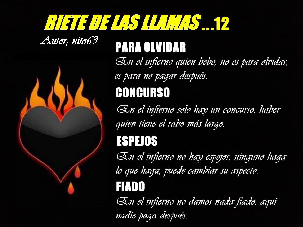 RIETE DE LAS LLAMAS…12