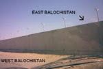 دیوار آپارتاید بین شرق و غرب بلوچستان