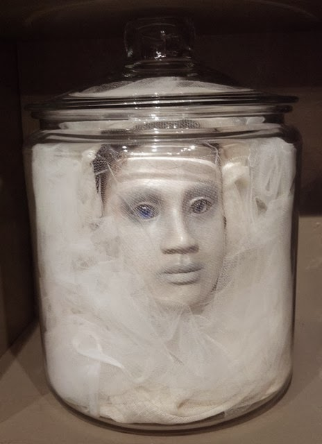 Acorn to oak happy halloween for Heads in jar