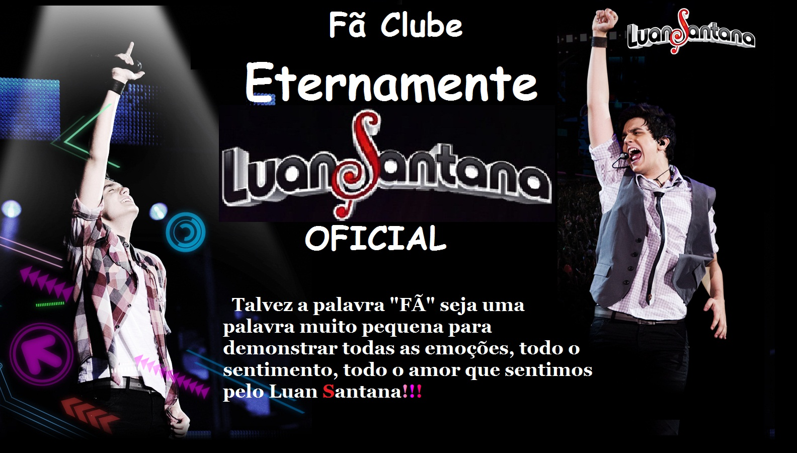 Fc Eternamente Luan Santana OFICIAL