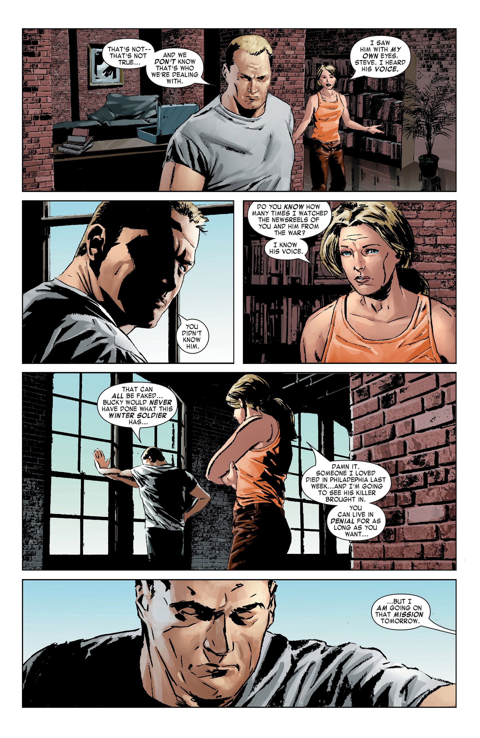 Captain America (2005) Issue #9 #9 - English 8