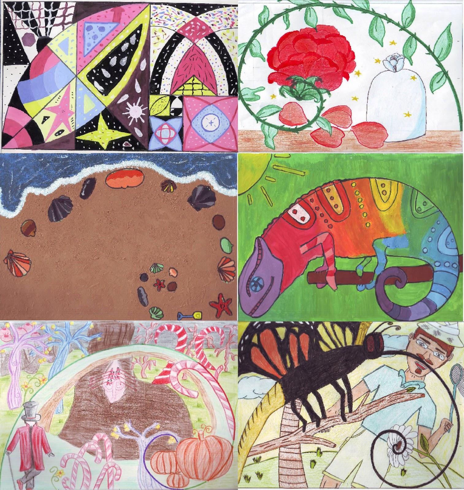 Pintar, crear, pensar...: La espiral áurea