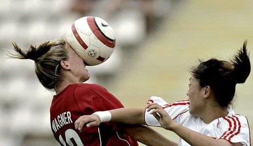 Accidentes deportivos - Fútbol femenino