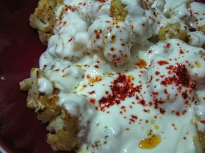 Nefis Karnabahar kızartması tarifi